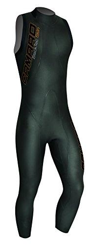 Camaro Herren Schwimmlongsuit Blacktec Skin 7/8, Schwarz, 56, 957795-99 -