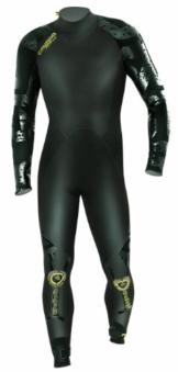 Camaro Herren Surfanzug Ice Tec Semi Dry, schwarz, 50, 924768 -