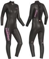Camaro Speedskin Damen Overall Triathlon Wettkampf Neoprenanzug -
