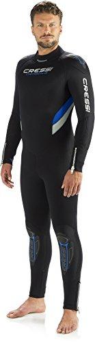 CRESSI CASTORO PLUS 7 mm Tauchanzug für Herren Collection 2014 schwarz schwarz Large/4 Years -
