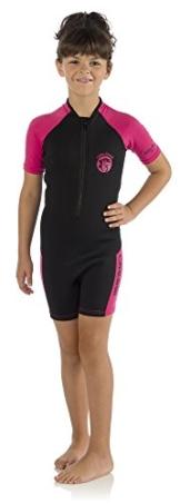 Cressi Little Shark, Kinder Neoprenanzug Schwimmanzug, Premium Neopren 1.5 / 2 mm -