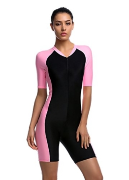 Damen UV Schutz Wetsuit Badeanzug Tauchanzug Wassersport short neu -