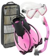 mares Schnorchel-Set Alize Junior Taucherbrille und Schnorchel mit Ausblasventil -