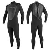 O'Neill Junior Reactor 3/2mm Back Zip Wetsuit - Black/Red/Graphite -