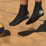 Original Beachsocken von Bora Sportswear - Sandsocken, Neoprensocken, Strandsocken für Strand & Wasser (L) -