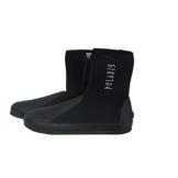 POLARIS Black Boots - Neopren Füsslinge für Tauchen und Schnorcheln (Gr. 43) -