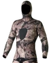 SEAC Men's, Python Neoprenanzug 3,5 mm-Jacke, Größe XXL -