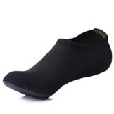 SITAILE Damen Herren Kinder Barfuß Schuhe Weich Wassersport Schuhe Aquaschuhe Surfschuhe Badeschuhe Yoga Fitness Schuhe Water Aqua Shoes,Schwarz,3XL,EU43-44 -