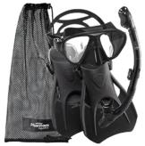 Speed Sport Schnorcheln schwimmen Maske Fin Schnorchel Set -