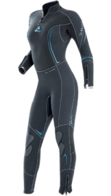 SubGear Definition IR7 Damen Halbtrockener Tauchanzug Collection 2013 (80) -