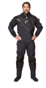 Waterproof D9 Breathable atmungsaktiver Quad-Laminat Trockentauchanzug mit Fronteinstieg (Herren L) -