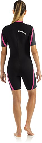 Cressi Damen Schwimmanzug Playa, schwarz, L, LV446004 -