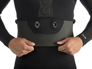 Cressi Neoprenanzug Apnoe Apnea Zweiteilig 7 mm, schwarz, VI/XXL, LE460056 -