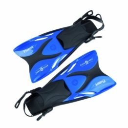 Aqua Lung 63306 - Schwimmflossen Flame metallic, 33-36, blau -