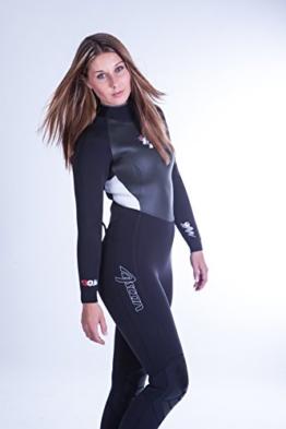 ASCAN NEW STYLE 5 mm Neoprenanzug Surfanzug Neues Modell !! SURF KITE WAKE (38) -