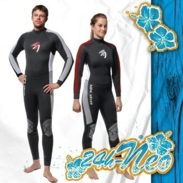 ASCAN Overall 5 mm Wave Semidry Neoprenanzug Surfanzug SURF KITE WAKE, 42 -