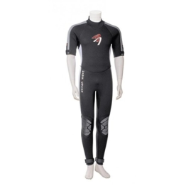 Ascan Wave Shortarmsteamer Kurzarm Neoprenanzug Surfanzug (54) -