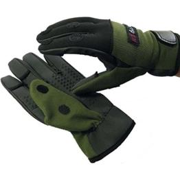 Behr Neopren Handschuhe Sibirian-Pride, Angelhandschuhe, Anglerhandschuhe, Größe:L -