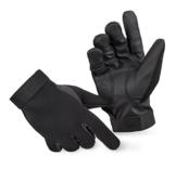 BlackSnake® Neopren Handschuhe mit Kevlar Schnittschutz Schwarz M -