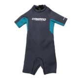 CAMARO JUNIOR PRO FLEX KIDS SHORTY Kinder Wetsuit Neopren Shortie Anzug (262327) (GREY, 116) -