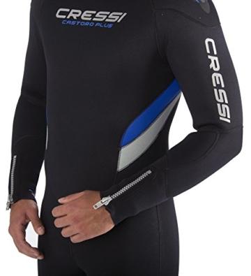 CRESSI CASTORO PLUS 7 mm Tauchanzug für Herren Collection 2014 schwarz schwarz X-Large/5 Years -
