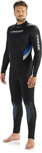 CRESSI CASTORO PLUS 7 mm Tauchanzug für Herren Collection 2014 schwarz schwarz Large/4 Years -