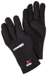 Cressi Neoprenhandschuhe High Stretch 3.5 mm, schwarz, L, LX475803 -