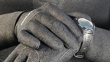 Cressi Neoprenhandschuhe High Stretch 5 mm, schwarz, M, LX475902 -