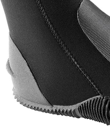 Cressi Premium LX432504 Unisex Neopren Füßling für Geräteflosse, schwarz, XL/44/45 -