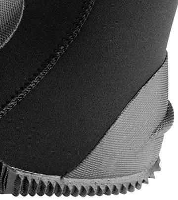 Cressi Premium LX432603 Unisex Neopren Füßling für Geräteflosse, schwarz, L-42/43 -
