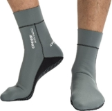 Cressi Uni Neoprensocken Ultra Stretch Boots, grau, M, DF200031 -