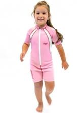 Cressi Unisex - Kinder Neopren Schwimmanzug Shorty, rosa, M - Jahre 2/4, DG001102 -