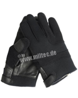 Fingerhandschuhe Neopren/Kevlar schwarz L -