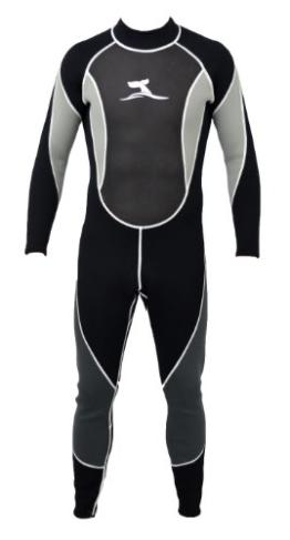 Herren 3 mm Neoprenanzug Longsuit Größe XXL 56-58 Surfanzug mit Mesh Skin -