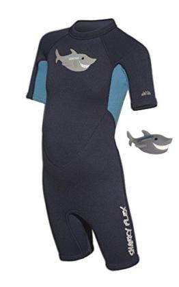 Kindershorty Camaro Sharky Flex incl. Quietsche-Hai (XS = 2 (98-108 cm)) -