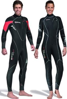 Mares Damen Flexa 5.4.3Dives Neoprenanzug Mehrfarbig schwarz / schwarz Size S3 -