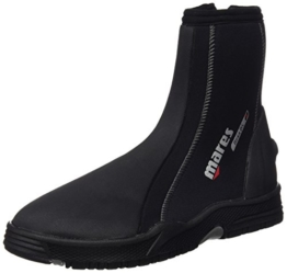 Mares Erwachsene Füßling Dive Boots Flexa DS 5 mm, Black/Grey, 10, 412626100 -