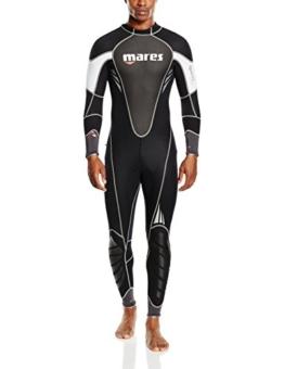 Mares Herren Reef 3Neoprenanzug-Schwarz/Schwarz, Größe S8 -