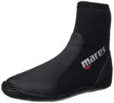 Mares Unisex Dive Boots Classic NG 5 mm, black/grey, 43 (US 10), 41261910050 -