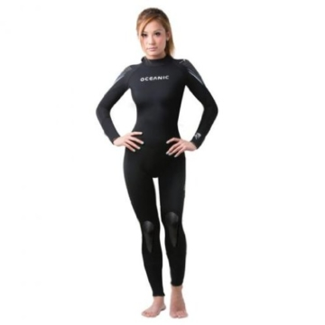 Oceanic Pioneer 5mm Women's Scuba Diving Jumpsuit/Wetsuit - Size 12 -