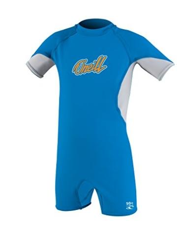 O'Neill Boy's O'Zone Kinder-Feder, Nylon-Elasthan-Anzug, Blau/Mond/Blaze, Größe 1 -