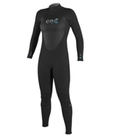 O'Neill Wetsuits Damen Neoprenanzug Epic 5/4 mm Full Wetsuit, Black, 14, 4218-A05 -