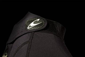O'Neill Wetsuits Damen Neoprenanzug Reactor 2 mm Spring Wetsuit, Black, 10, 3801-A05 -
