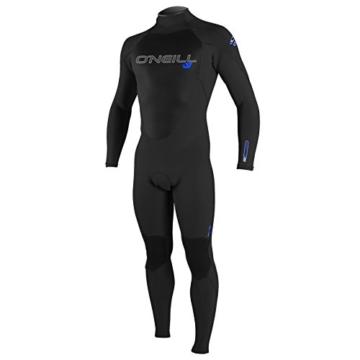 O'Neill Wetsuits Herren Neoprenanzug Epic 5/4 mm Full Wetsuit, Black, L, 4217-A05 -