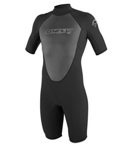 O'Neill Wetsuits Herren Neoprenanzug Reactor 2 mm Spring Wetsuit, Black, XL, 3799-A05 -