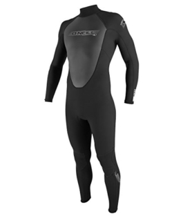 O'Neill Wetsuits Herren Neoprenanzug Reactor 3/2 mm Full Wetsuit, Black, L, 3798-A05 -
