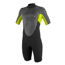 O'Neill Wetsuits Jungen Neoprenanzug Reactor 2 mm Spring Wetsuit, Black, 16, 3803-W23 -