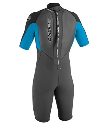 O'Neill Wetsuits Jungen Neoprenanzug youth reactor 2 mm S/S spring, Graphite/Tahiti/Black, 6, 3803-BB3 -