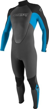 O'Neill Wetsuits Jungen Neoprenanzug youth reactor 3/2 full, Graphite/Tahiti/Black, 16, 3802-BB3 -