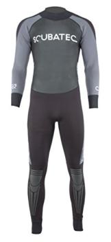 """SCUBATEC 3/2mm Surfanzug """"Big Wave"""", schwarz-grau, 60 (4XL) -"""